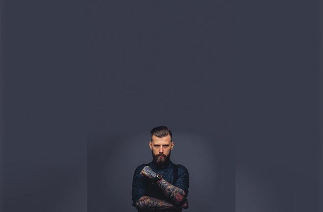 La barbe plus que jamais tendance