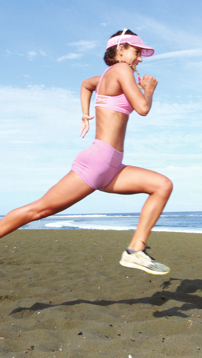 Lou Ann Perrière : addict au sport de pleine nature