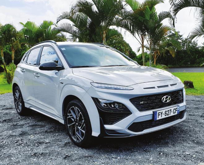 Hyundai kona 1.6crdi 115ch n-line Facelift et nouvelles technologies