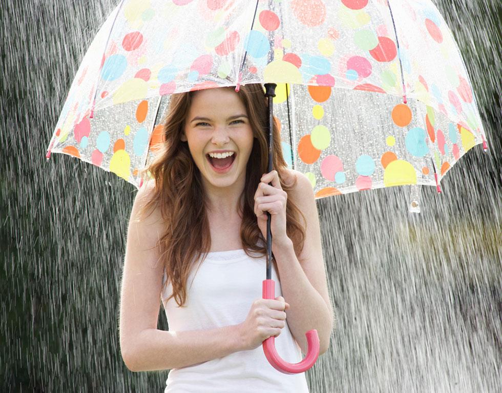 Les bienfaits de la pluie
