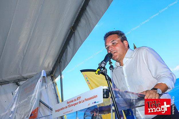 NRL : inauguration de l'échangeur de La Possession