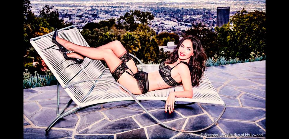 Megan Fox : mère de 3 garçons,  égérie sexy et créatrice de lingerie
