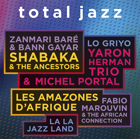 Musique : Festival Total Jazz
