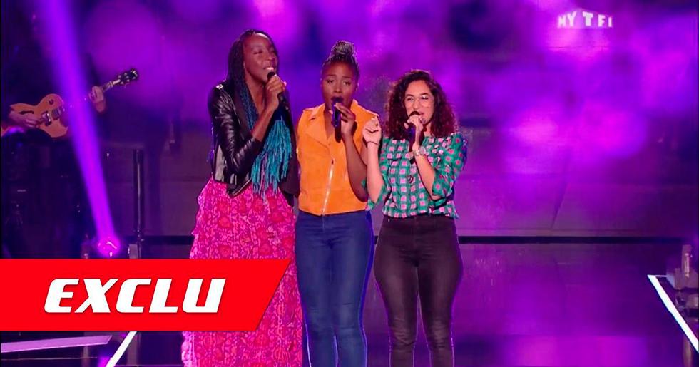 The Voice : Découvrez en exclusivité : The Sugazz, un trio à couper le souffle!!!!