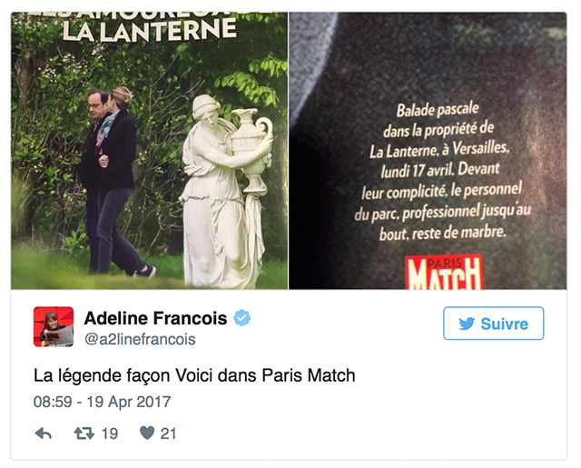François Hollande et Julie Gayet : des photos du couple