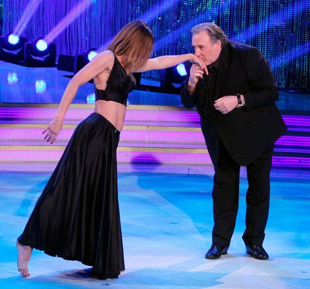 Gérard Depardieu dans la version italienne de «Danse avec les stars»!