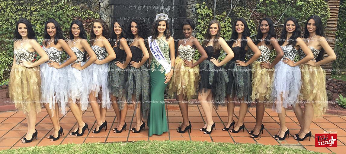 Les candidates de Miss Réunion 2017 - © Julien Bourbon