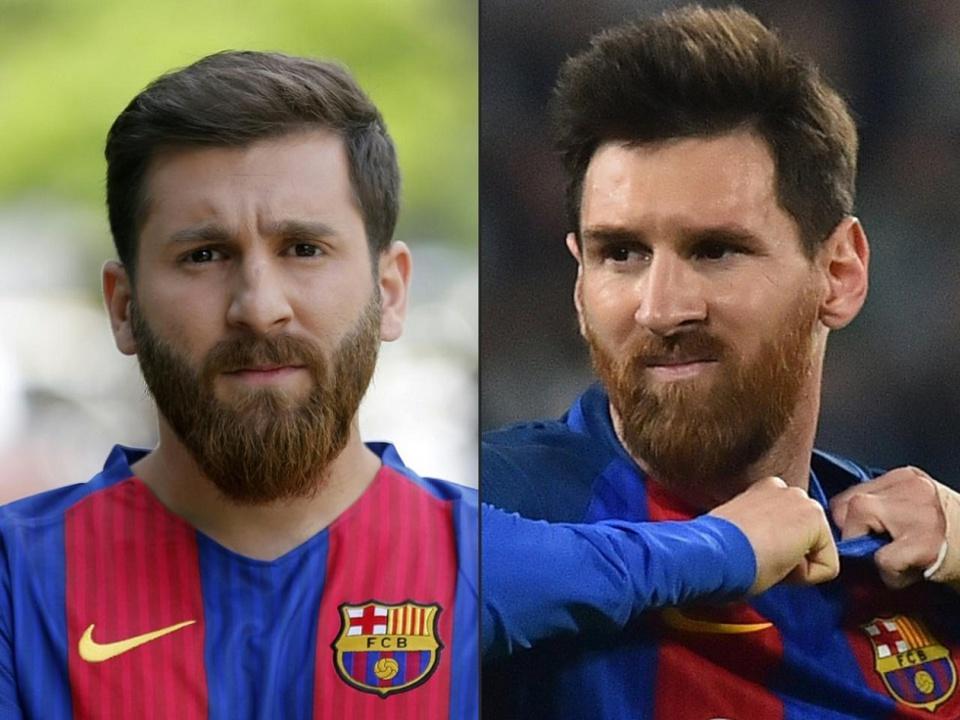 Iran: Le sosie de Messi provoque des émeutes dans son pays pour des selfies