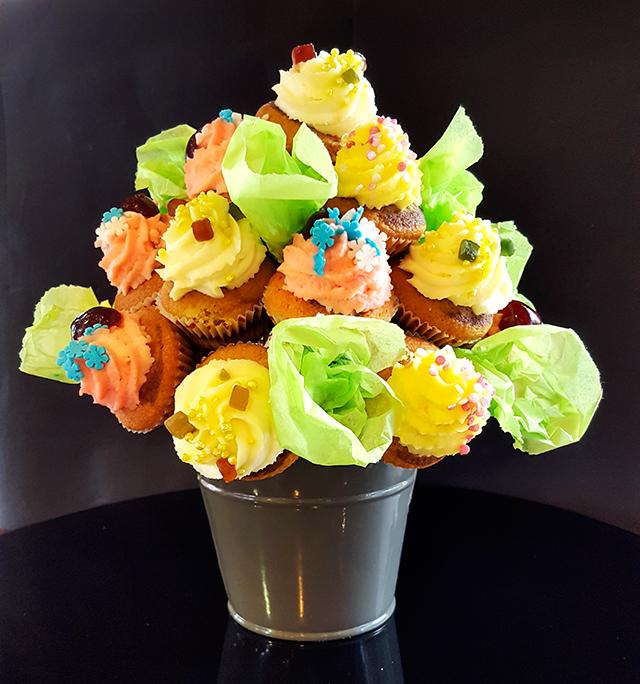 Mini cupcakes marbrés