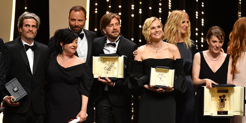La Palme d'or du Festival de Cannes 2017 et toutes les récompenses