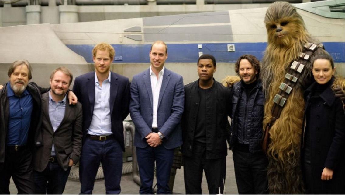Les princes William et Harry feront une apparition dans le prochain Star Wars