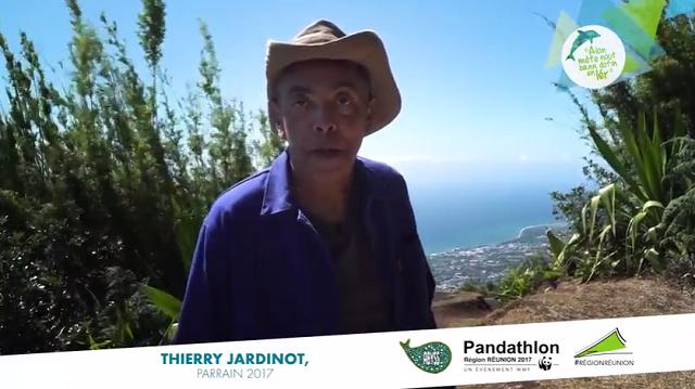 Thierry Jardinot, parrain d'exception du Pandathlon 2017