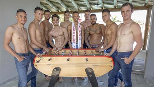 les candidats de Mister France Réunion -©David Blaineau