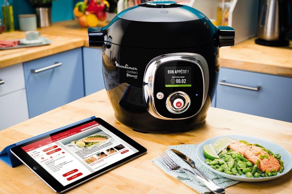 Le multicuiseur connecté, votre second de cuisine