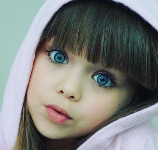 Voici la nouvelle plus belle petite fille au monde !