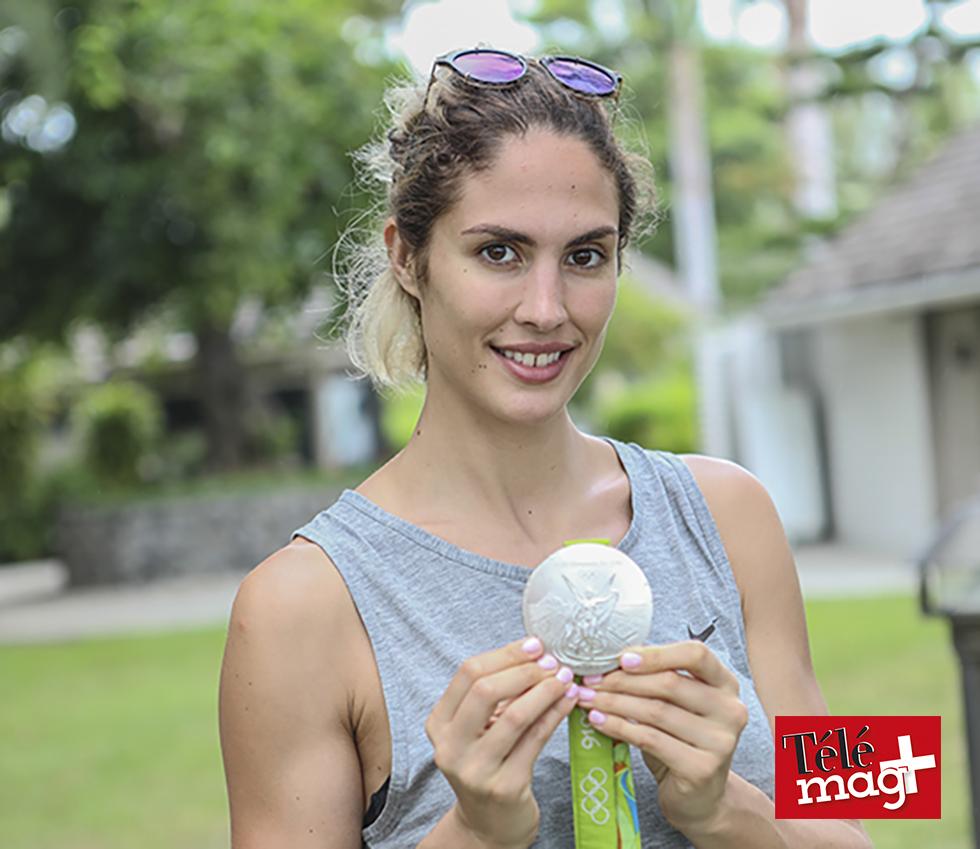 Elodie Clouvel, championne de pentathlon moderne à La Réunion