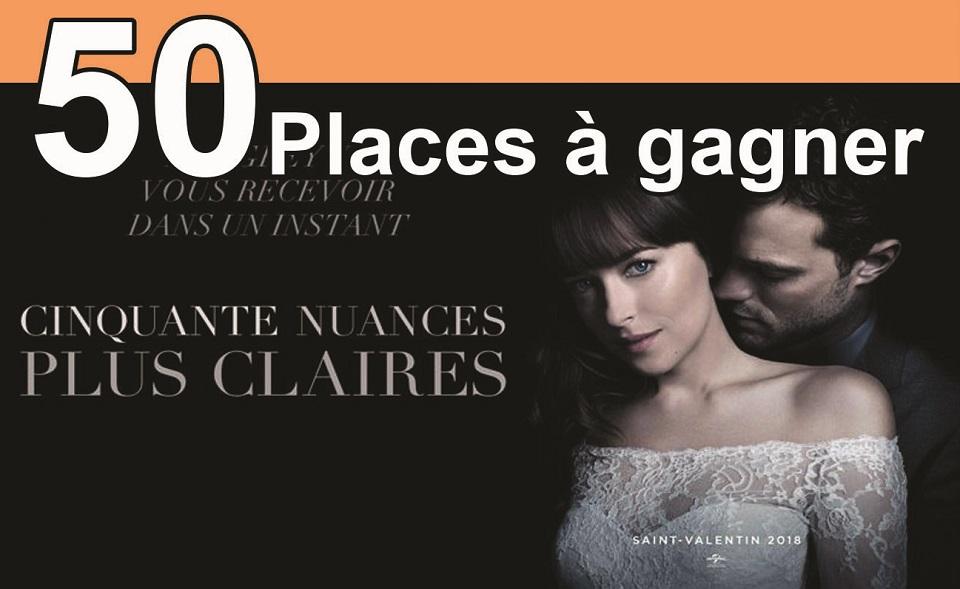 """50 places à gagner pour """"Cinquante nuances plus claires"""" avec le réseau ICC"""