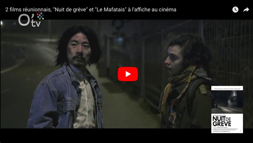 """2 films réunionnais, """"Nuit de grève"""" et """"Le Mafatais"""" à l'affiche au cinéma"""