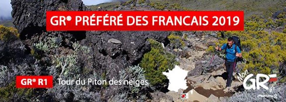 Île de la Réunion : le GR® R1 élu GR préféré des français