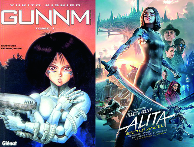 """ ALITA BATTLE ANGEL """