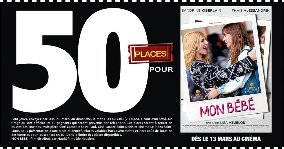 """Cinéma - 50 places à gagner pour """" MON BEBE """" avec le réseau Mauréfilms"""
