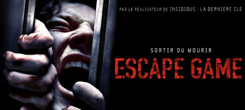 """Cinéma - 50 places à gagner pour """" ESCAPE GAME """" avec le réseau ICC"""
