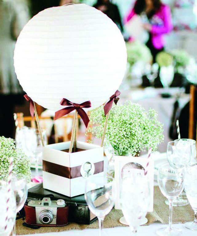 5 centres de table DIY pour votre mariage !