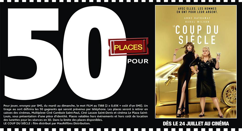 """Cinéma - 50 places à gagner pour """" LE COUP DU SIECLE """" avec le réseau Mauréfilms"""