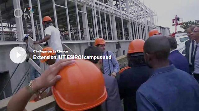 Extension IUT ESIROI campus sud