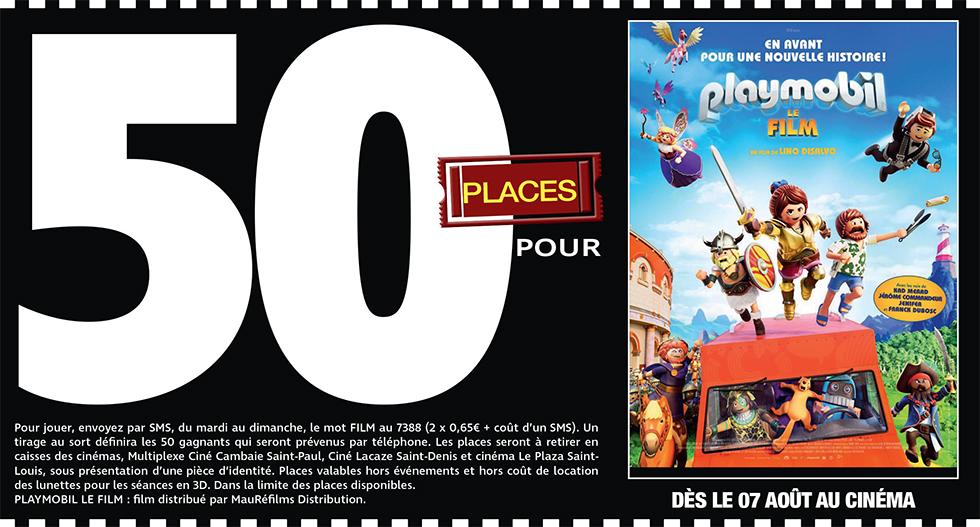 """Cinéma - 50 places à gagner pour """" PLAYMOBIL, LE FILM """" avec le réseau Mauréfilms"""