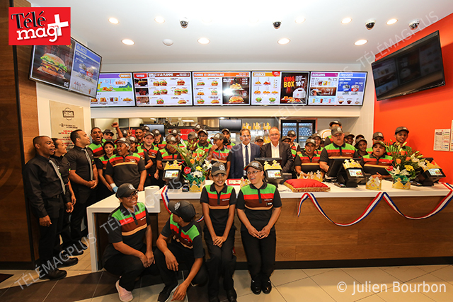 Burger King : Inauguration