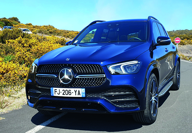 MERCEDES GLE 300d 245ch 4Matic 9G-Tronic Pack AMG-Line