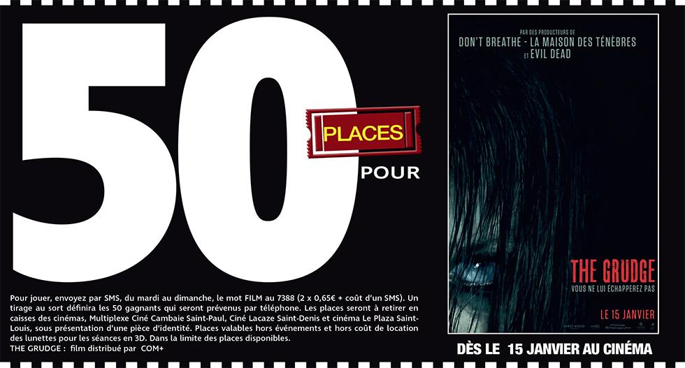 """Cinéma - 50 places à gagner pour """" THE GRUDGE """" avec le réseau Mauréfilms"""