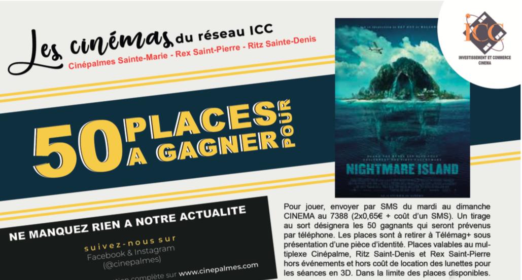 """Cinéma - 50 places à gagner pour """"Nightmare Island"""""""