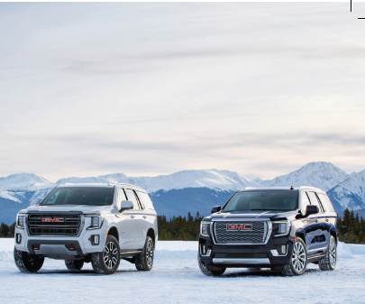 GMC Yukon AT4 et XL Denali