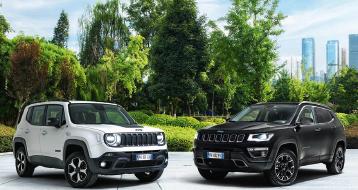 Jeep Renegade 4Xe et Compass 4Xe