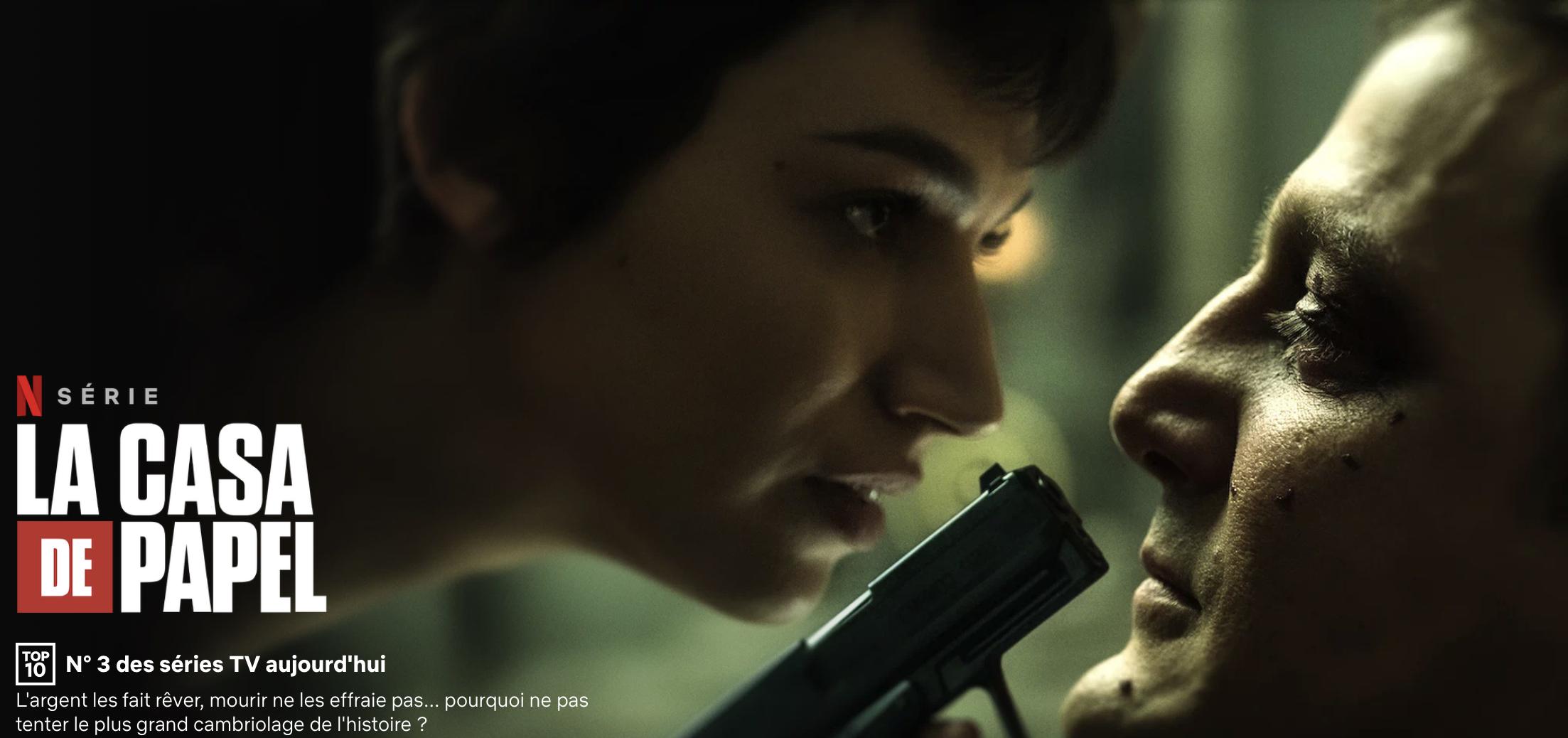 Casa de Papel : Netflix lance ce week-end la saison 4