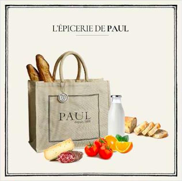 Les boulangeries PAUL rouvrent et créent l'Épicerie PAUL