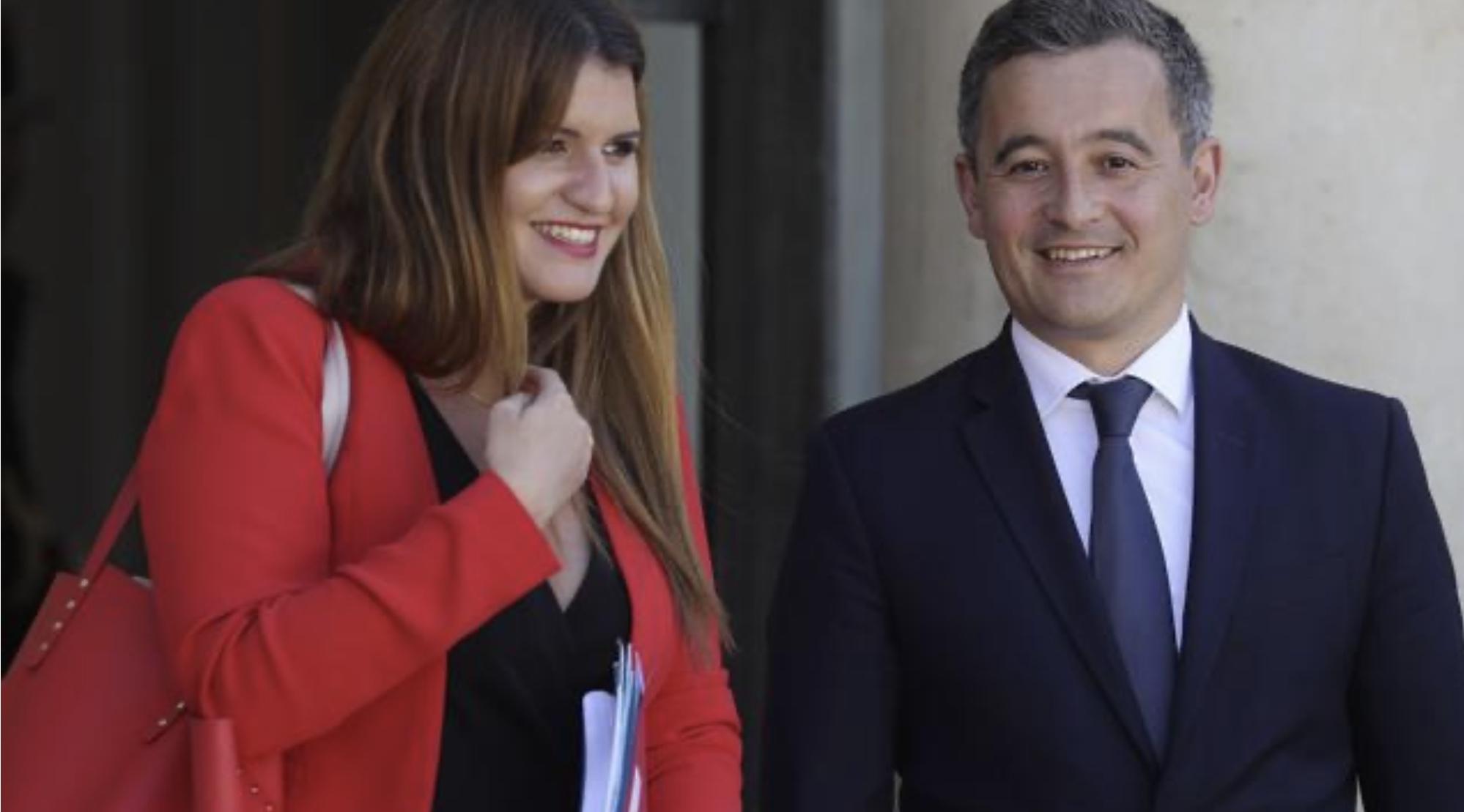 Marlène Schiappa, nouvelle ministre chargée de la citoyenneté apporte son soutien à Gérald Darmanin mis en cause par les féministes