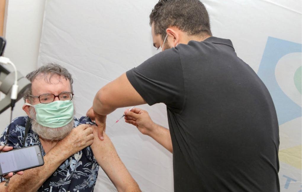 Inauguration du Centre de Vaccination Covid-19 à l'Espace Reydellet du Département