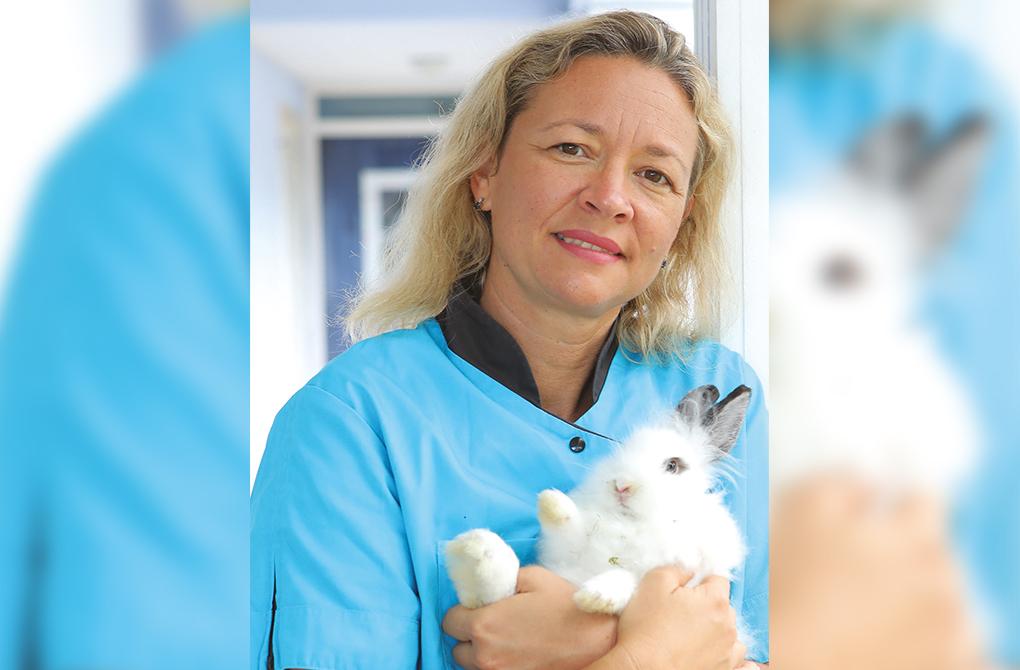 Emeline Pignolet, vétérinaire et associée de la clinique Austral