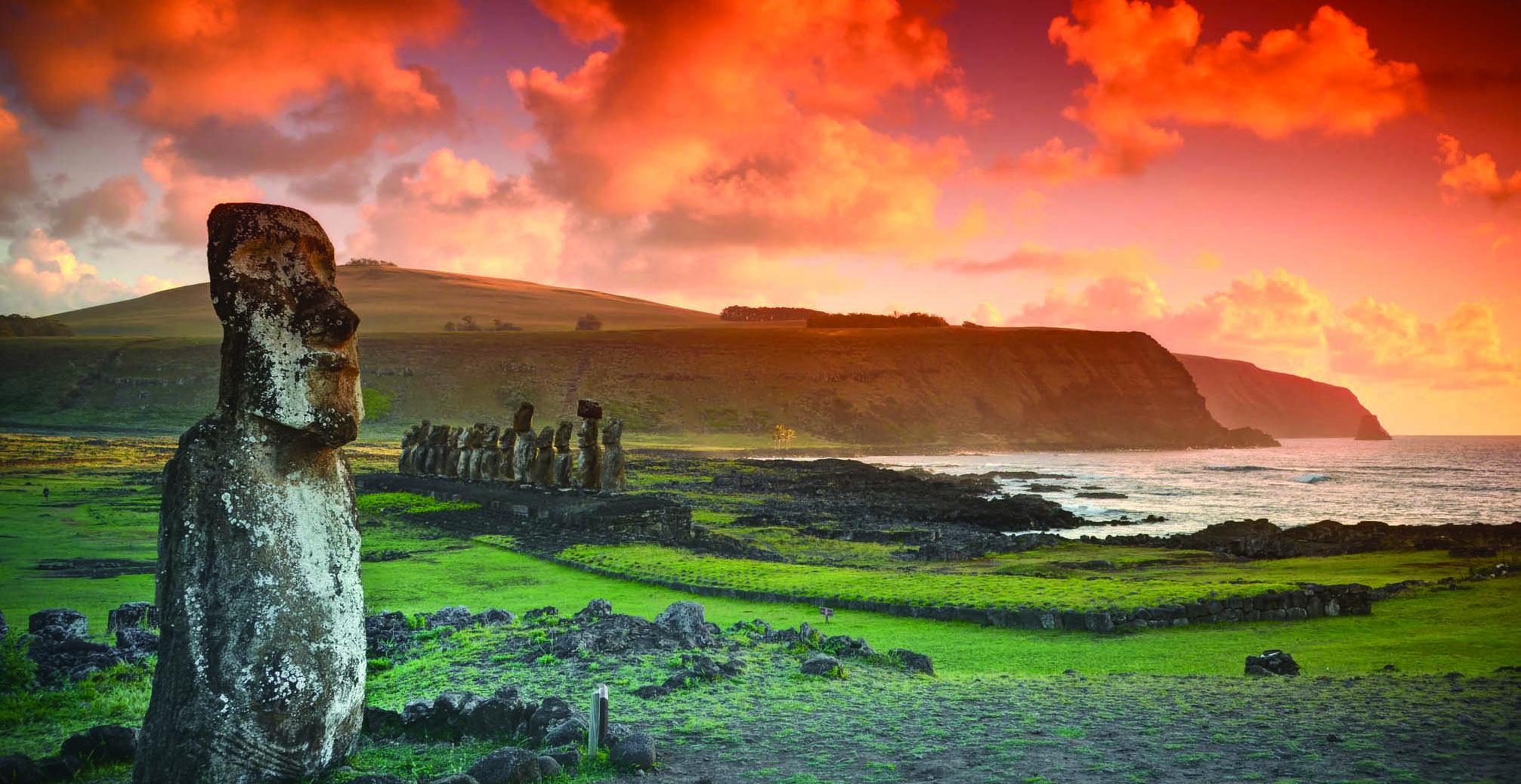 À la découverte des mystères de l'île de Pâques