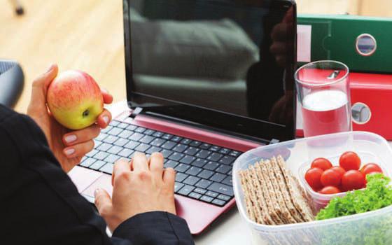 Les clés pour bien manger au bureau