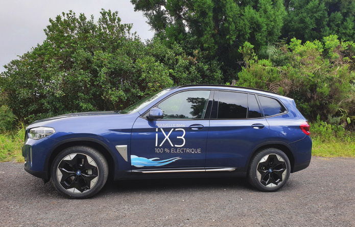 BMW iX3 286ch Luxury : Un modèle X sous haute tension
