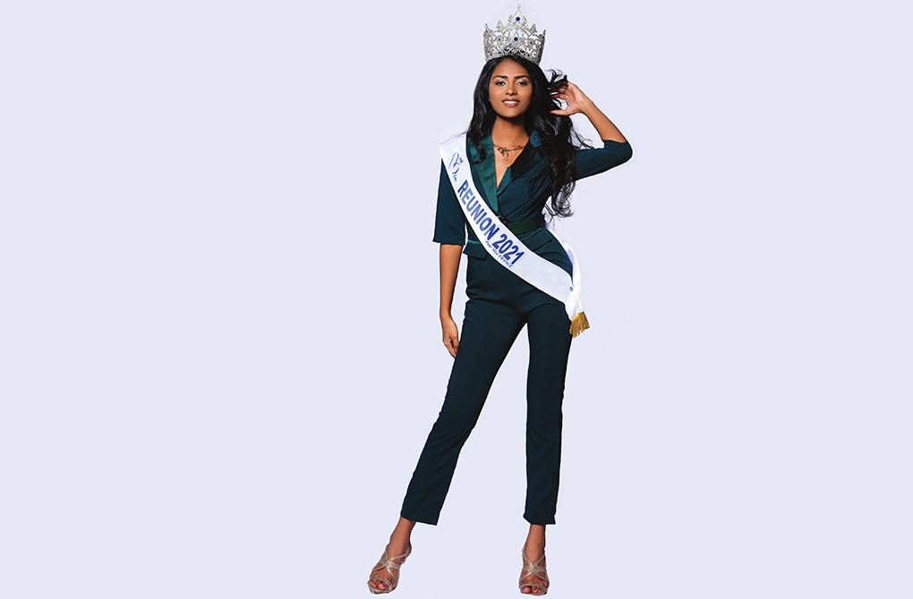 Miss Réunion 2021 : Les premiers pas de Dana Virin