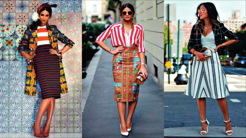 Le look en mode Mix and Match