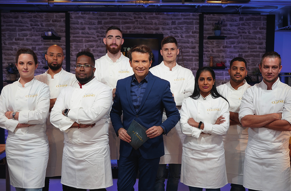 Christophe Bégert présente Tous en Cuisine sur Antenne Réunion « De la tradition... à la modernité ! »