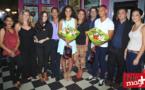 Sloann Barbin et Sébastien Técher, gagnants du Casting AMI Réunion, entourés des partenaires