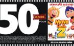 """Cinéma - 50 places à gagner pour """"Maya, l'abeille 2"""" avec le réseau Mauréfilms"""