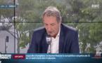 """Jean-Jacques Bourdin au bord des larmes qui a mis fin, à 8h30, à sa matinale sur RMC : """"Je pense à ma femme sans qui je n'aurai pas réussi tout ça"""" - Vidéo"""